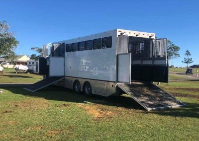 Horse transport truck fabrication