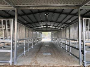 Horse stables, custom fabrication, Beaudesert