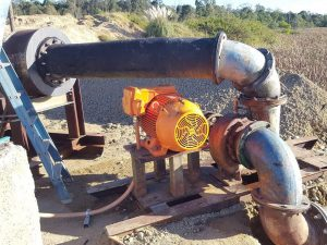 Servicing plant and quarry equipment