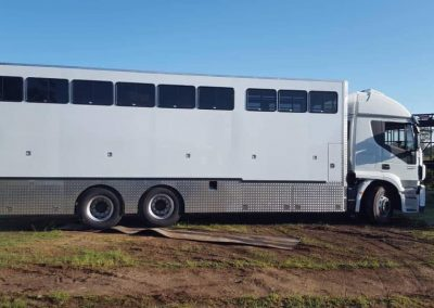 Horse box fabrication