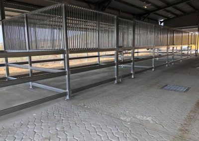 Horse stables metalwork