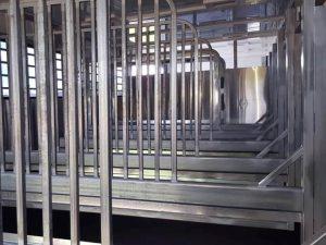Horse truck divider panels