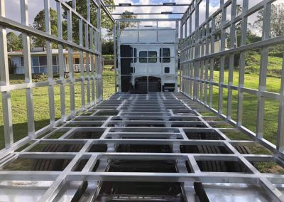 Horse truck crate fabrication