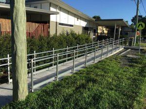 Metal fabrication handrails