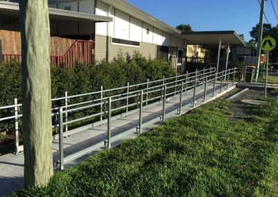 Metal fabrication handrails