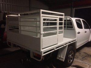 Ute dog box crate